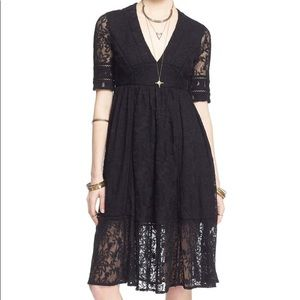 Free people Mountain Laurel lace midi dress